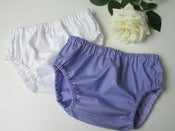 Image of Nappy cover set - lilac