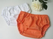 Image of Nappy cover set - apricot