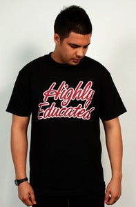 Image of Highly Educated Tee (Black)