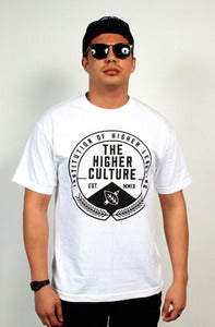Image of Institution of Higher Learning Seal Tee (white)