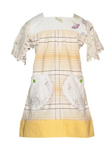 Image of Sweet two pocket VINTAGE XLarge tunic