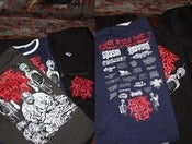 Image of COYOTE BRUTAL FEST -7 Art Toshihiro Egawa T-shirt
