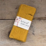 Image of Original Wrist Worms, Wool, Mustard (L)