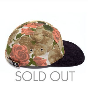 Image of MOUPIA Floral v/Cord. 5 Panel Hat