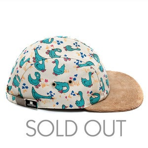 Image of MOUPIA Geese/Cord. 5 Panel hat