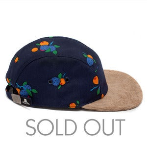 Image of MOUPIA fruits/Cord. 5 Panel hat