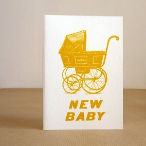 Image of New Baby greeting card