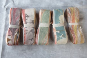 Image of Marbled Silk Ribbon Variety