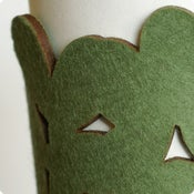Image of cozy/cuff SNAP - camo green