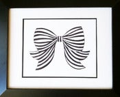 Image of Bow Art Print