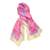 Image of Dark Pink Butterfly Scarf