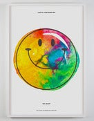 "Image of JUSTIN KRIETEMEYER - ""Rainbow Smiley"" Show Print"