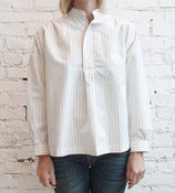 Image of Pinstriped Blouse