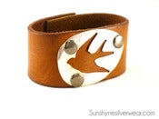 Image of Put A Bird On It: Leather Cuff