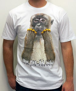 Image of Guys | Brass Monkey | Crew | White