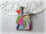Image of Queen of Hearts Alice In Wonderland Brooch