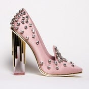 Image of Crystal Pump: Pink