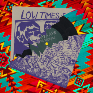 "Image of LOW TIMES // EETS FEATS SPLIT EP 7"" RECORD"