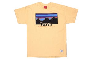 Image of Montserrat tee in sunflower
