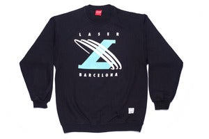 Image of Un-cross training sweatshirt in black