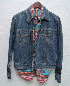 Image of Vintage Montgomery Ward denim jacket (S)