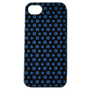 "Image of Cookies ""iPhone 5"" case (mint blue on black)"