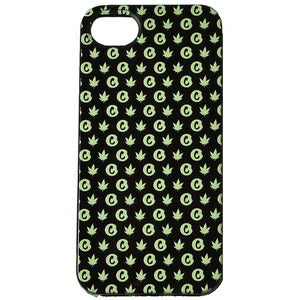 "Image of Cookies ""iPhone 5"" case (hemp on black)"