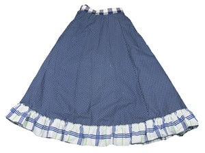 "Image of "" TEEN "" Size 10 to 12 or 6 adult frilled skirt"