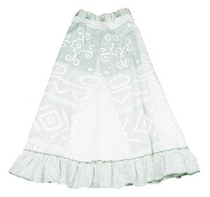 Image of minty teen skirt 8 to 10 years