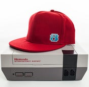 Image of 8 Bit Apparel #Pixel Snapback Red