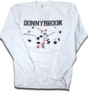 Image of DONNYBROOK! Rated (R) long sleeve tee (American Apparel)
