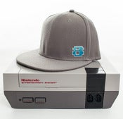 Image of 8 Bit Apparel #Pixel Snapback Gray