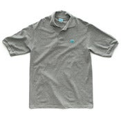 Image of 8 Bit Apparel #Pixel Polo Heather Gray