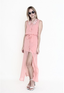 Stella Pink Peach Dress