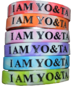 "Image of ""I AM YO&TA"" Wristbands"