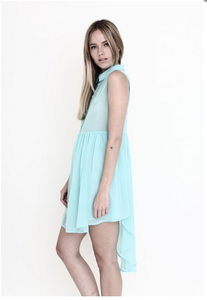 Poppy Turquoise Blue Dress