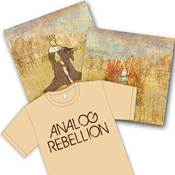 Image of Analog Rebellion - Ancient Electrons, PlayRadioPlay! - Besides Nothing, Shirt, Signed