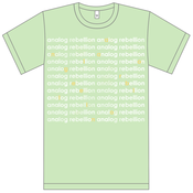 Image of Analog Rebellion Shirt - Green