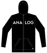 Image of Black Analog Hoodie and CD Combo