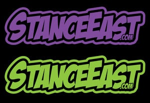 "Image of ""Stance East"" Comic Die Cut"