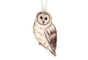 Image of Barn Owl Necklace