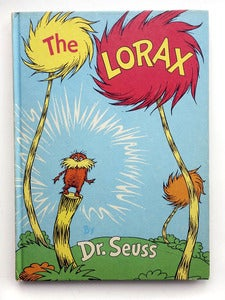 Image of The Lorax, by Dr. Seuss. First Edition, 1971