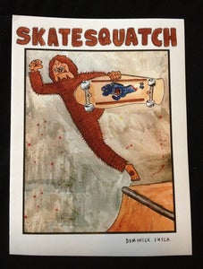 Image of Skatesquatch Issue #1