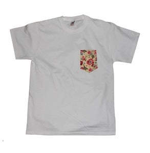 Image of Floral Pocket Tee