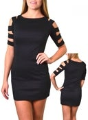 Image of Sabrina Cut-Out Dress