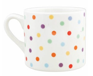 Image of polka dot mug
