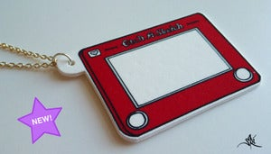Image of Etch A Sketch Pendant