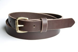 Image of The Slim Belt - Brown