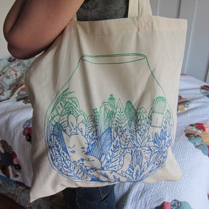 Image of Terrarium Tote Bag