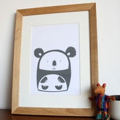 Image of Cuddly Koala Hand Screenprinted Poster